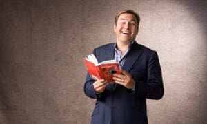 David Walliams, pictured with his book Gangsta Granny