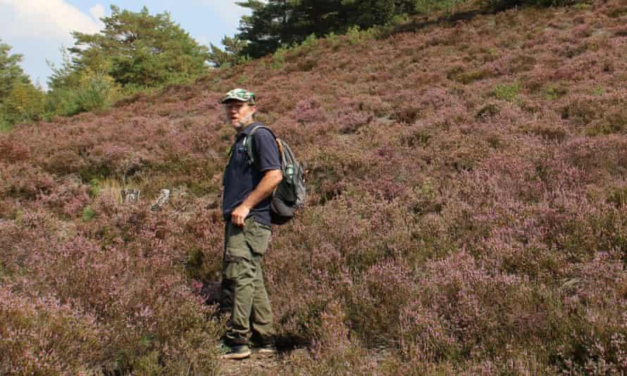 Mike Waite of Surrey Wildlife Trust.