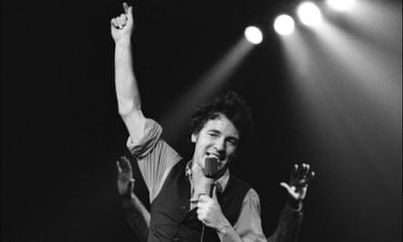 Bruce Springsteen in 1978