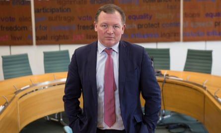 The Conservative MP Damian Collins