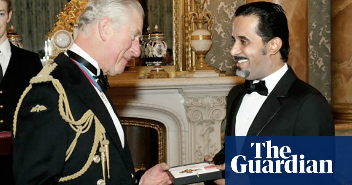 The Saudi tycoon at the centre of an honours controversy