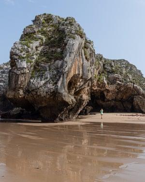 Cuevas del Mar beach - Asturias region in Spain photographed for Tourism Asturias campaign