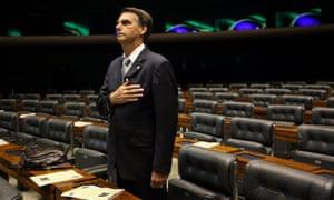 Brazilian legislator Jair Bolosaro