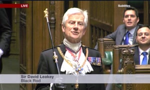 The prorogation ceremony in the Lords.