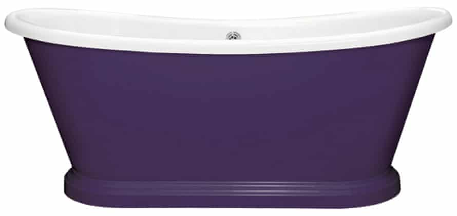 Boat Bath-LG-Purple-Heart from £1480 from bcdesigns.co.uk