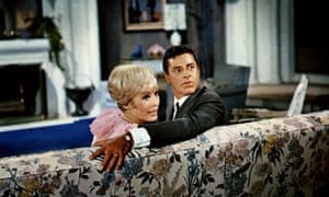 Janet Leigh and Jerry Lewis in Three on a Couch, 1966