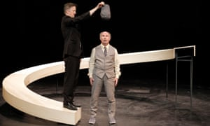 Jos Houben and Marcello Magni (Marcel) play for the London International Mime Festival at Shaw theatre.
