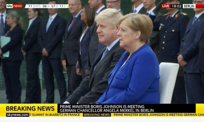 Brexit: Angela Merkel gives Boris Johnson 30 days to come up