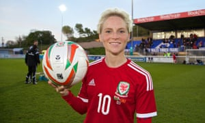 Cardiff-born Jessica Fishlock made her debut for Wales in 2006 and against Northern Ireland on Wednesday will become the first player, male or female, to earn 100 caps for the country