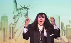 A zeitgeist for sore eyes … Frances Barber as Billie Trix in Musik by Jonathan Harvey and Pet Shop Boys.