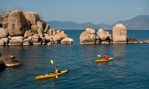 Kayaking at Mumbo island