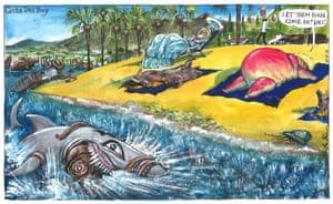 Martin Rowson cartoon 12.10.2021