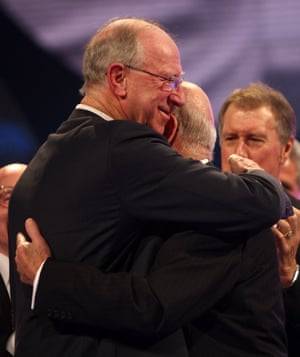 The brothers fell out over their mum Cissie but in 2008 there was an incredibly powerful reunion when Jack presented Bobby with the Lifetime Achievement Award at the BBC Sport Personality of the Year Awards