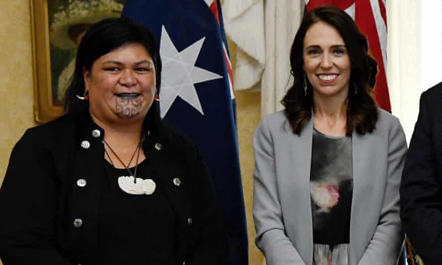 The new foreign minister Nanaia Mahuta with New Zealand's prime minister Jacinda Ardern.