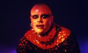 Keith Flint performing in 1997.