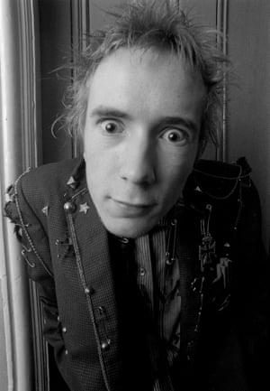John Lydon as Johnny Rotten in 1976