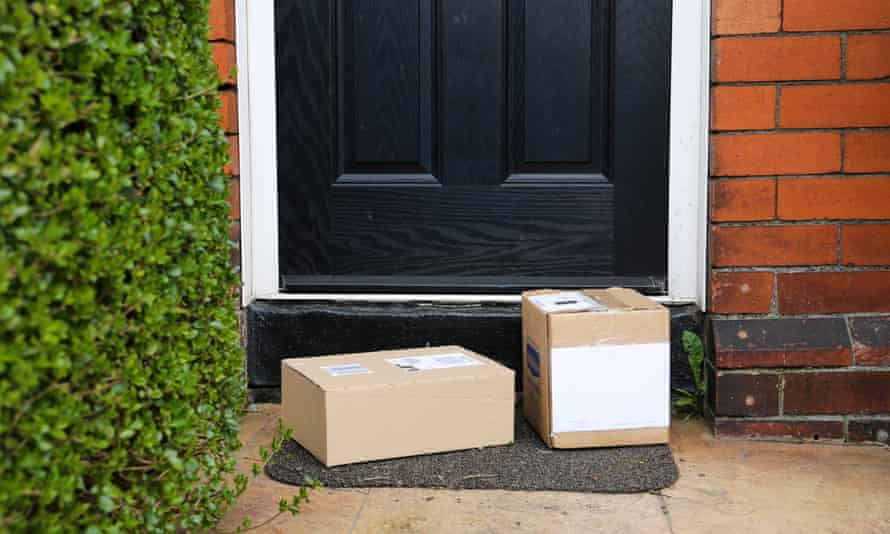 Households in the UK are thought to be hoarding up to 135m cardboard boxes.