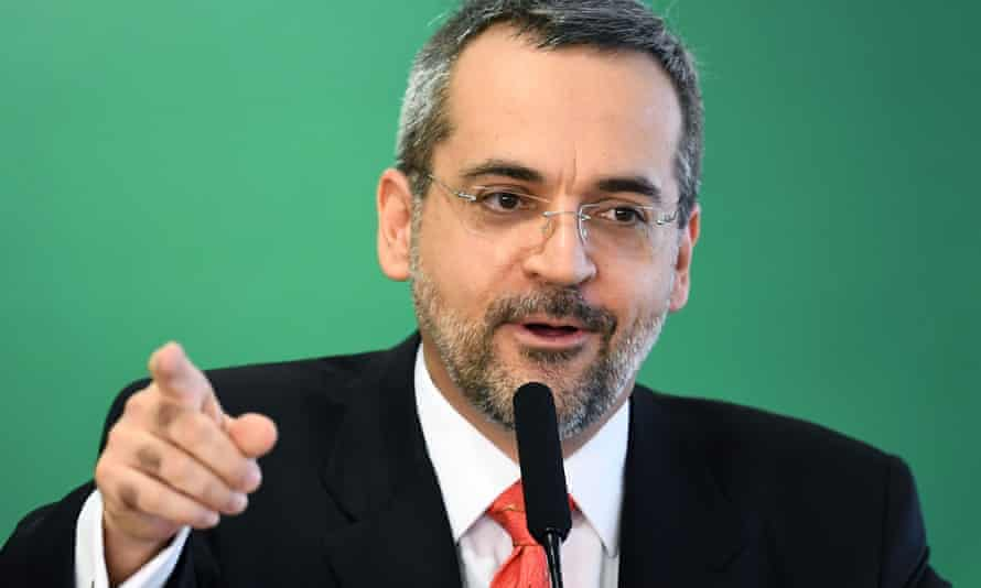 Brazilian education minister Abraham Weintraub