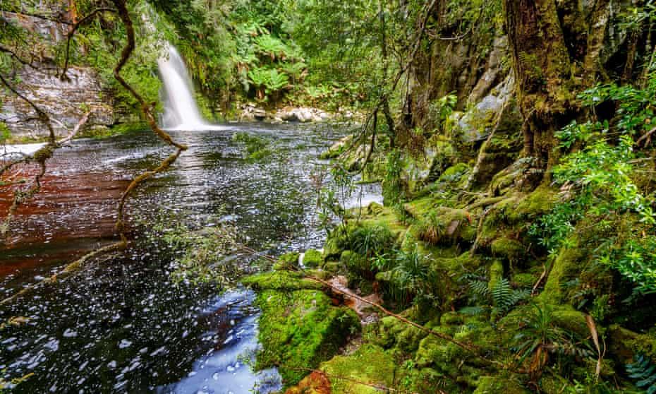 Sir John's Falls, Gordon River, Tasmania,