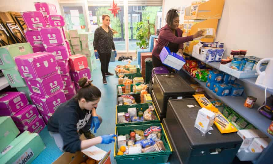 The £750m package to help charities such as those delivering food was unveiled on 8 April.