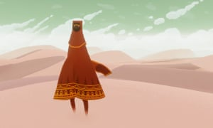 A scene from Journey.