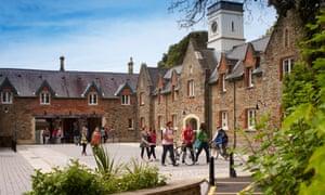 Part of Swansea's Singleton campus.