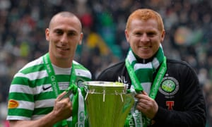 Neil Lennon won the Premiership three times with Celtic before departing in 2014.