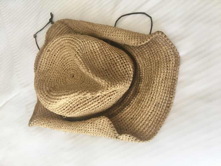 Bryan Brown's beloved straw hat.