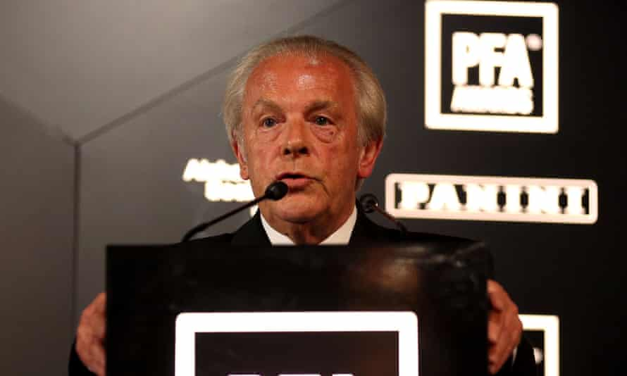 Gordon Taylor, the chief executive of the Professional Footballers' Association, often faced criticism over his salary.