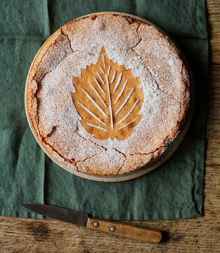 Tamal Ray's cobnut tart, AKA 'Tarta de Kent'.