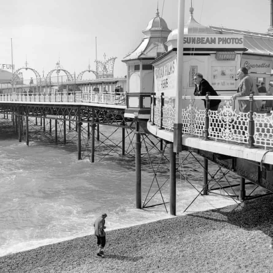 Faded memories … Palace Pier, Brighton.