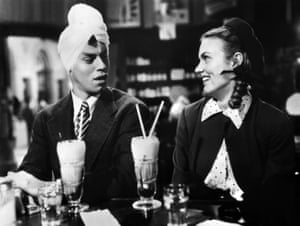 Jerry Lewis and Marion Marshall in The Stooge, 1952