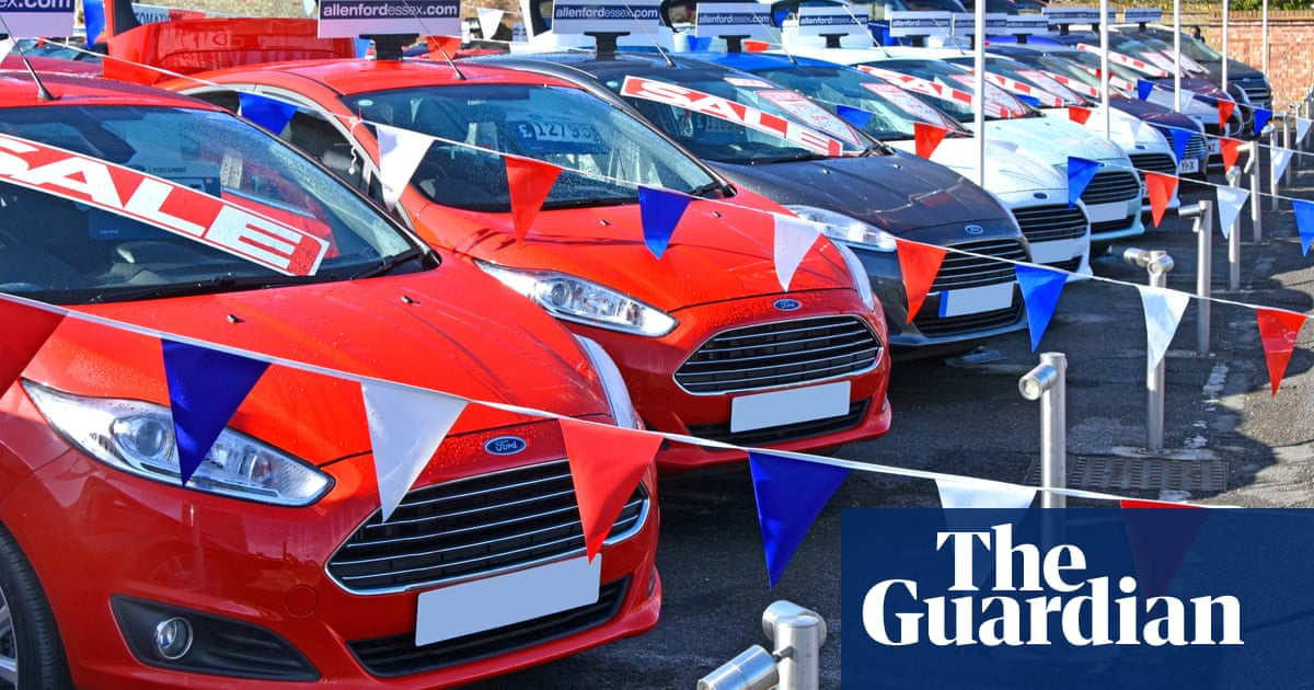 Weakest UK August car sales in 13 years amid supply chain shortages