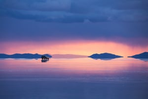 The salt flats are at an altitude of 3,565 metres above sea level