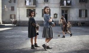 Ludovica Nasti as Lila and Elisa del Genio as Elena in the TV adaptation of My Brilliant Friend.