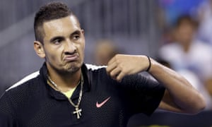Nick Kyrgios will learn from his mistakes and challenge for grand slam glory according to newly-appointed Australian Davis Cup captain Lleyton Hewitt.