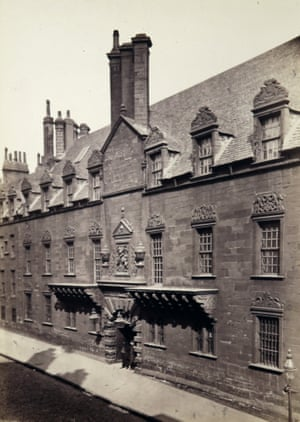 Old College from High Street, 1866