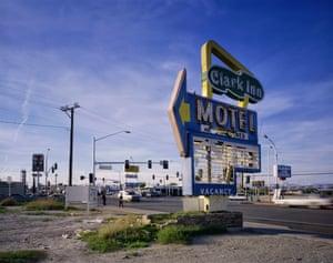 The Clark Inn Motel sign