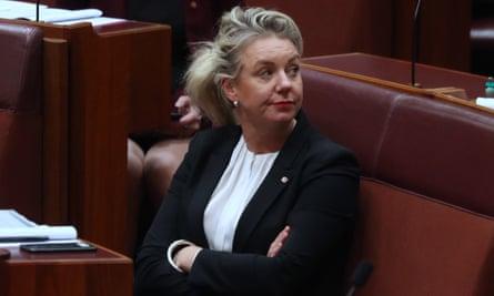 Bridget McKenzie in parliament in May
