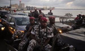 Ivory Coast troops