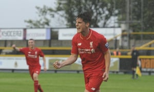 Liverpool have put the Spanish teenager Sergi Canos out on loan to the Championship side Brentford