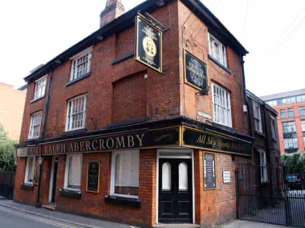 The Sir Ralph Abercromby pub, now earmarked for demolition.