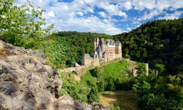 Eltz Castle near the Eifel national park: the area is a designated international dark sky park.