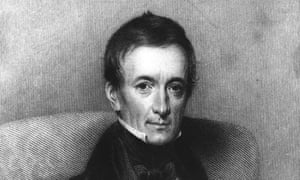 an engraving of dr peter mark roget