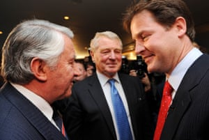 Ashdown, Clegg, David Steel