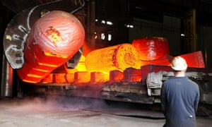 Sheffield Forgemasters, which in February said it planned to cut jobs.