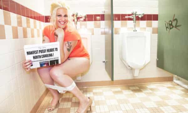 Bathroom sex lady football game