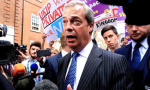 Farage dons the tinfoil as his 'Brex appeal' begins to falter