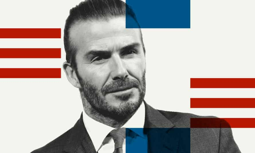 David Beckham has strong links with US Soccer