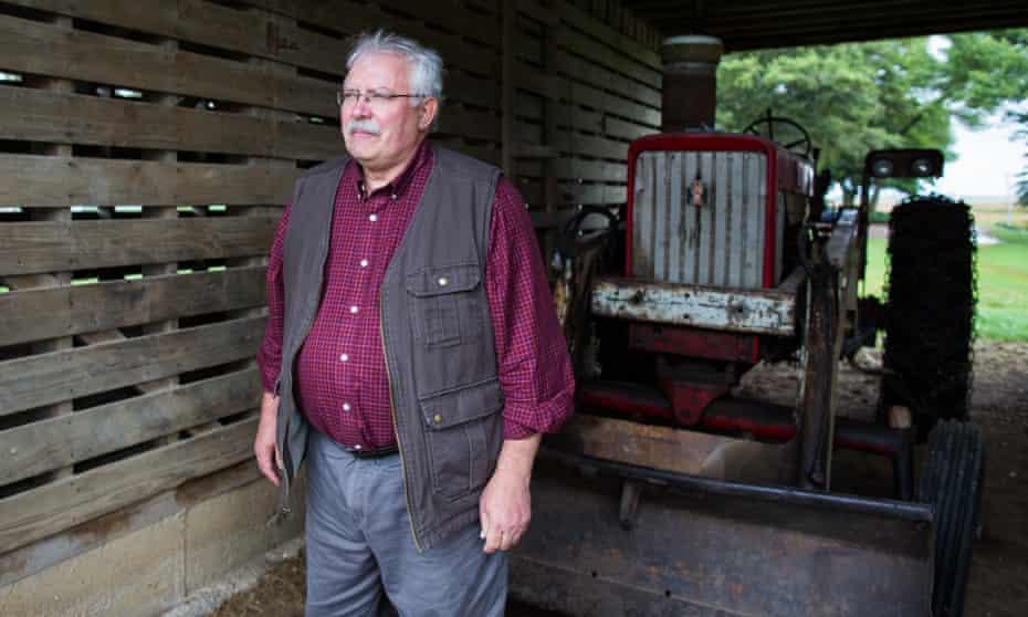 Iowa farmer and psychologist Mike Rosmann.